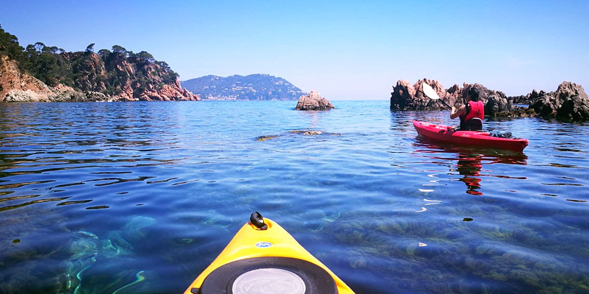 Experience Costa Brava from a kayak