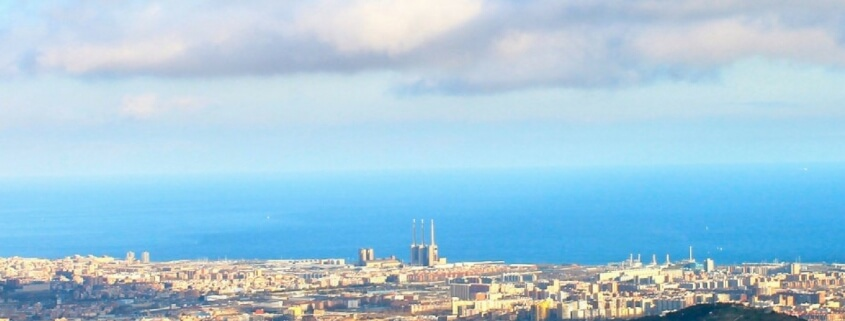 Barcelona in winter