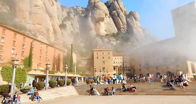 The Monasterry of Montserrat