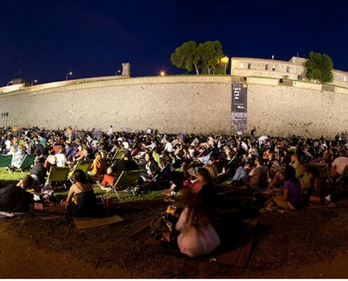 Cinema at Montjuic