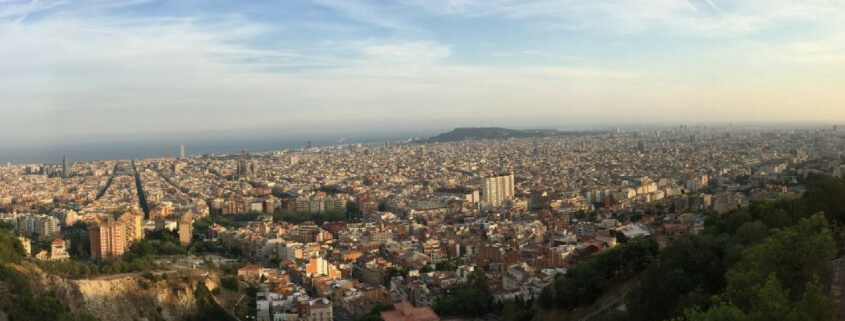 Overlook of Barcelona