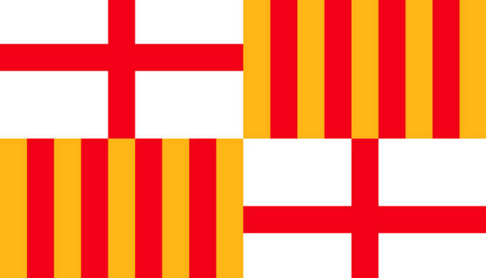 The Flag of Barcelona