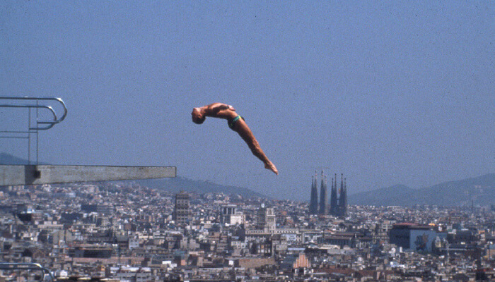 Olympic Diving at Piscina Municipal de Montjuic