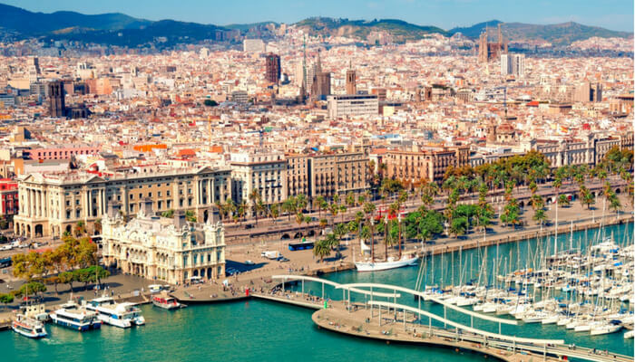Barcelona Waterfront by Westside International Travel Inc.,