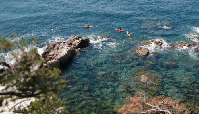 Costa Brava - Kayaking the wild coast