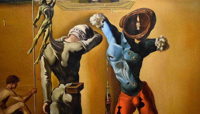 Painting- Dali- Poetry-of-America