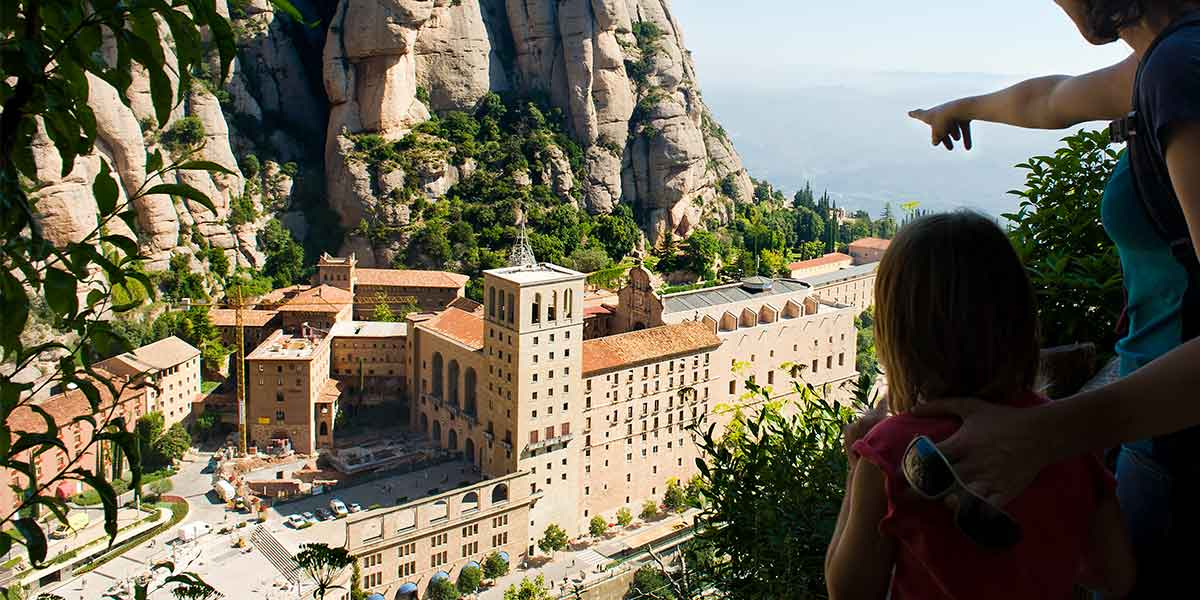 Private Montserrat Tour and Boutique Winery Experience